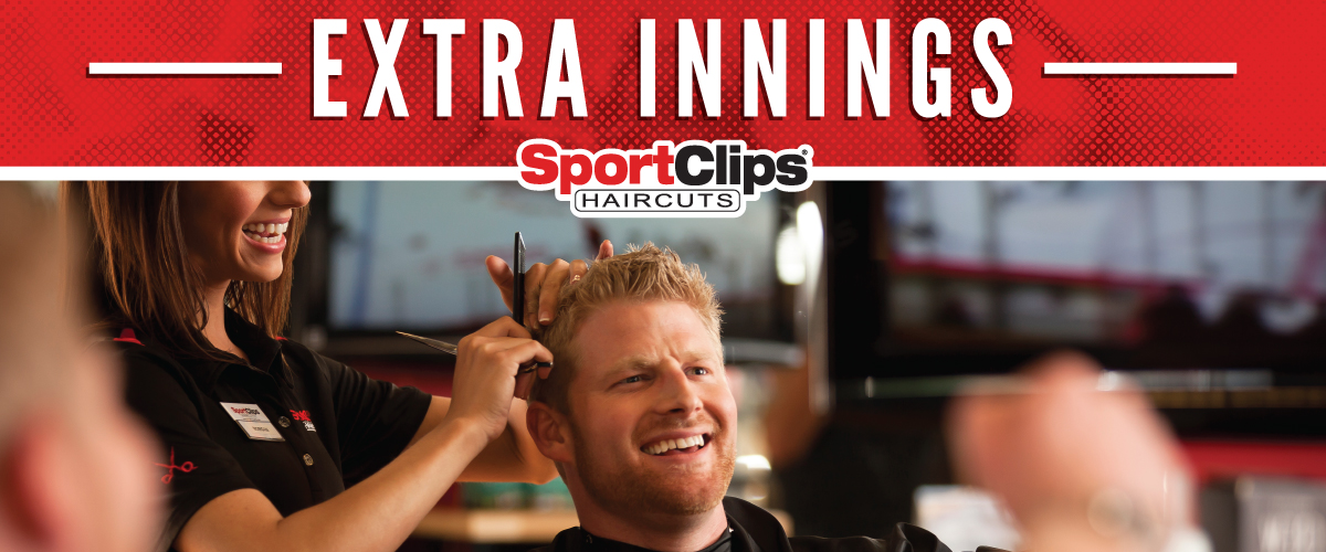 The Sport Clips Haircuts of Warner Robins  Extra Innings Offerings